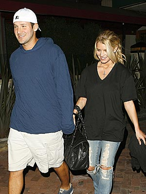 DINNER DATE photo | Jessica Simpson, Tony Romo