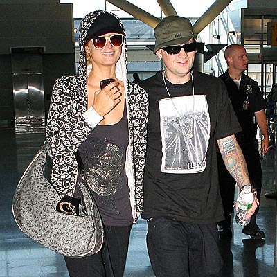 TRAVEL GUIDE photo | Benji Madden, Paris Hilton