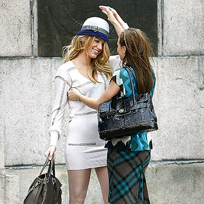 HAT TRICK photo | Blake Lively, Leighton Meester