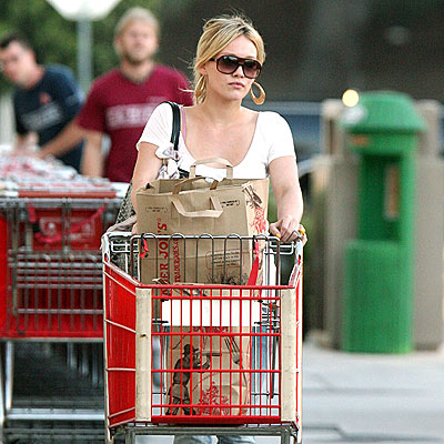 GO CART  photo | Hilary Duff