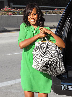 GOING GREEN photo | Kerry Washington