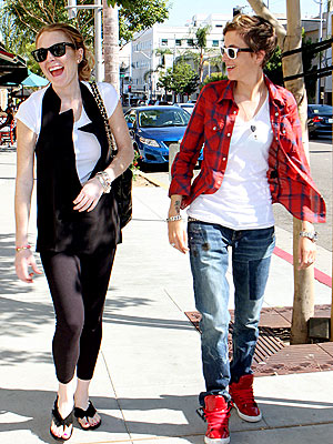 THAT'S ENTERTAINMENT photo | Lindsay Lohan, Samantha Ronson