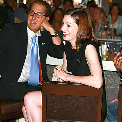 GETTING POLITICAL photo | Anne Hathaway