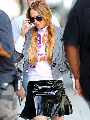 SET DRESSING photo | Lindsay Lohan