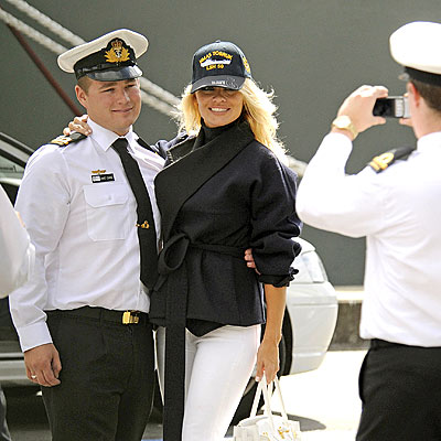 IN THE NAVY photo | Pamela Anderson
