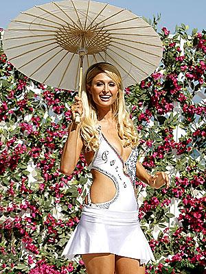 SUN BLOCK photo | Paris Hilton