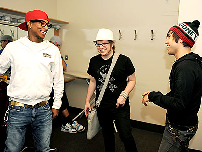 POLITICAL PARTY photo | Pete Wentz, Pharrell Williams