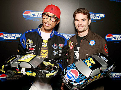 SPEED DEMONS photo | Jeff Gordon, Pharrell Williams