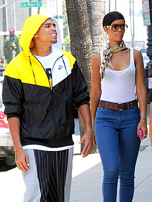 WINDOW SHOPPING photo | Chris Brown, Rihanna