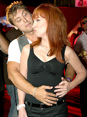 GRAB A PARTNER! photo | Kathy Griffin, Lance Bass