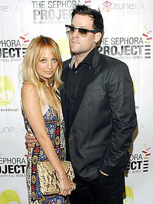 'PROJECT' GLAMOUR photo | Joel Madden, Nicole Richie