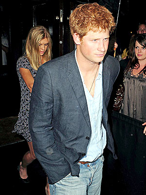 LATE ESCAPE photo | Prince Harry