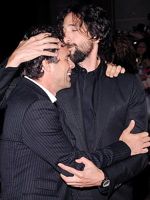 KISSY FACE photo | Adrien Brody, Mark Ruffalo