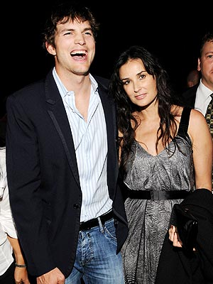 'CRUNCH' TIME  photo | Ashton Kutcher, Demi Moore