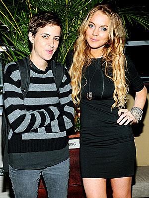 STUCK ON HER photo | Lindsay Lohan, Samantha Ronson