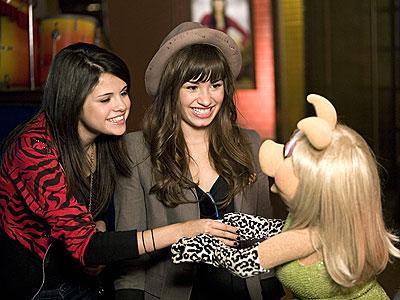 MUPPET MANIA photo   Demi Lovato, Selena Gomez