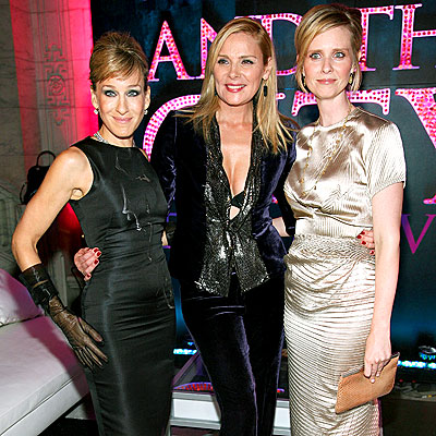 'SEX' APPEAL photo | Cynthia Nixon, Kim Cattrall, Sarah Jessica Parker