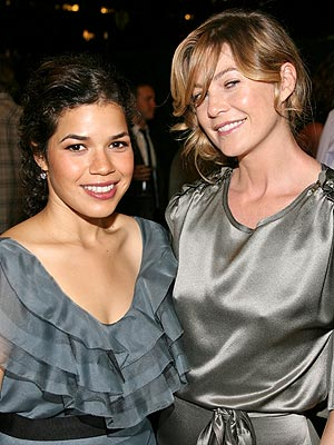 Awaiting TV's Biggest Night photo | America Ferrera, Ellen Pompeo