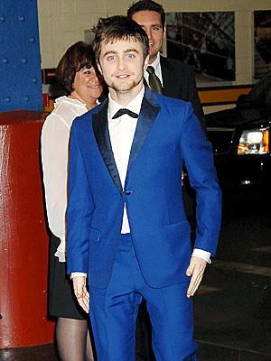 FEELING BLUE photo   Daniel Radcliffe