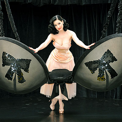 HER CUPS RUNNETH OVER photo | Dita Von Teese