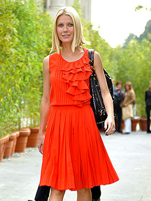 ORANGE APPEAL  photo | Gwyneth Paltrow