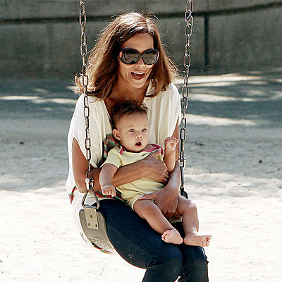 IN THE SWING photo | Halle Berry