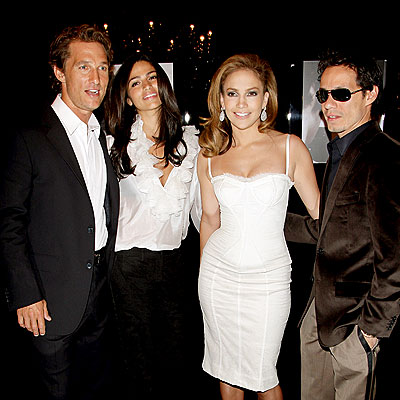 FAB FOUR photo | Jennifer Lopez, Marc Anthony, Matthew McConaughey