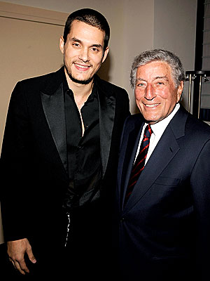 DASHING DUO photo | John Mayer, Tony Bennett