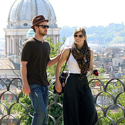 LET'S GO, ROMA! photo | Jessica Biel, Justin Timberlake