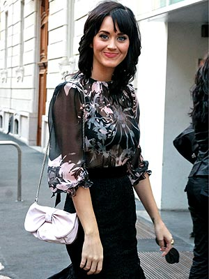 ROCKING HER LOOK photo | Katy Perry