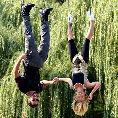 HANG TIME photo | David Blaine, Kelly Ripa