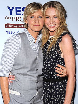 SWEET SUPPORT photo | Ellen DeGeneres, Portia de Rossi