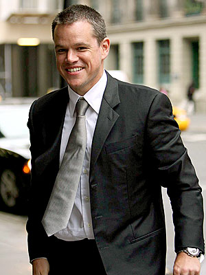 MAN ON A MISSION photo | Matt Damon