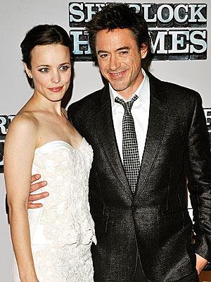 ON THE CASE photo | Rachel McAdams, Robert Downey Jr.