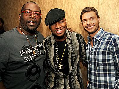 BOYS CLUB photo | Ne-Yo, Randy Jackson, Ryan Seacrest