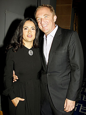 THE EX FACTOR photo | Henri Pinault, Salma Hayek