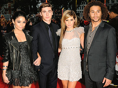 FANTASTIC FOUR photo | Ashley Tisdale, Corbin Bleu, Vanessa Hudgens, Zac Efron