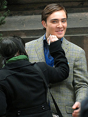 IT'S A DRAW photo | Ed Westwick