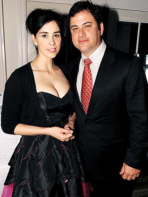 BACK TOGETHER  photo | Jimmy Kimmel, Sarah Silverman
