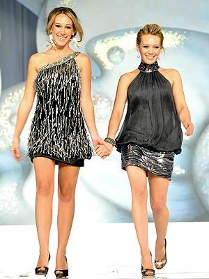 WALK THIS WAY photo | Haylie Duff, Hilary Duff