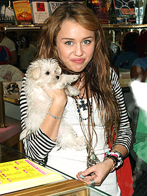 PUPPY CHOW photo | Miley Cyrus