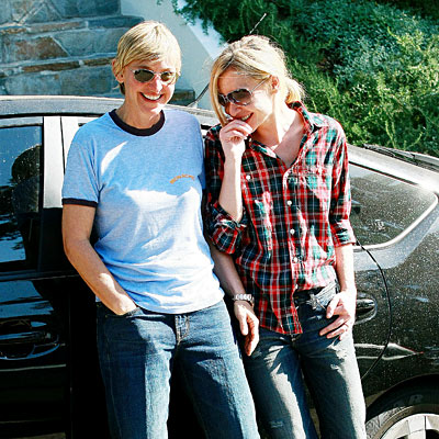 LIGHTEN UP photo | Ellen DeGeneres, Portia de Rossi