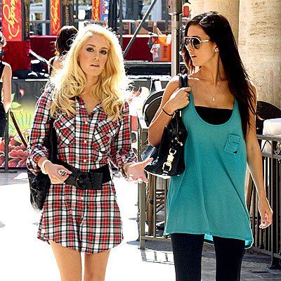 MALL CHICKS photo | Audrina Patridge, Heidi Montag