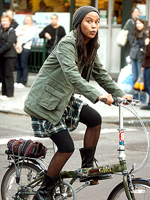 BIKER GIRL photo | Joy Bryant