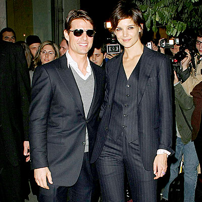 LOOKING SHARP photo | Katie Holmes, Tom Cruise