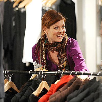 CLOTHES CALL photo | Debra Messing