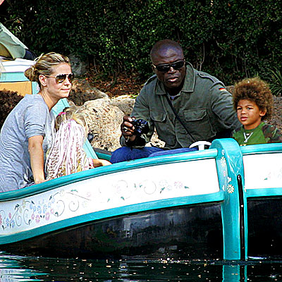 SMOOTH SAILING photo | Heidi Klum, Seal
