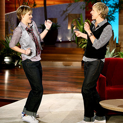 COPY CAT photo | Ellen DeGeneres, Hilary Swank
