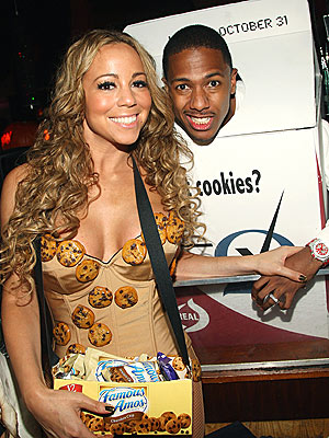 SNACK ON THIS  photo | Mariah Carey, Nick Cannon