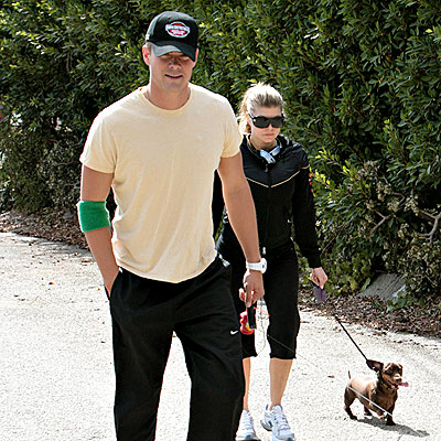 DOUBLE DUTY photo | Fergie, Josh Duhamel